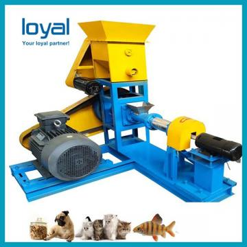 Professional Food Processing Machinery Floating Fish Feed Extruder Machine