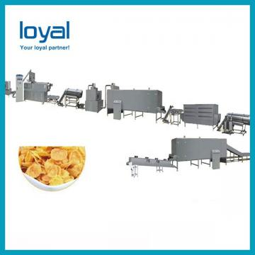 Fully Automatic Maize Flakes Making Machine , Breakfast Cereal Production Line