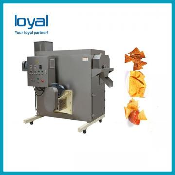 Automatic Corn Flakes Making Machine , Gas / Diesel / Electric Extruded Snacks Machinery