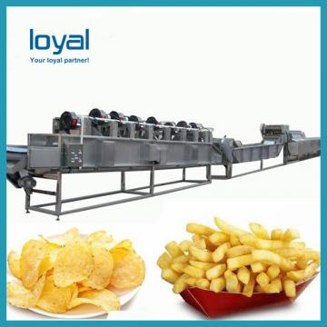 Professional Potato Chips Fried Production Line Frozen French Fries Processing Line