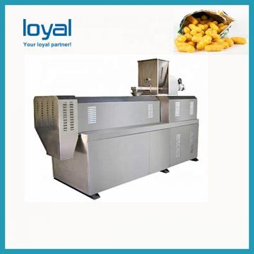 Puffed food seasoning machine rice chips production puffed rice crispy candy making machine