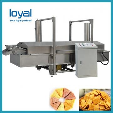 Extruded rice chips snack food making machine processing line