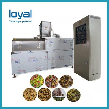 Engineers available to service machinery overseas Automatic Pet Treats Food Machine