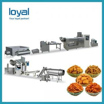 Puffed food extruder Machine / frying snack food processing line