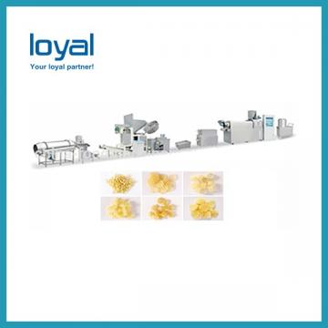 CE high quality Fried corn flour bugles snacks chips food making extruder machine plant equipment